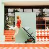 Silla de paseo Easywalker Miley Coral Green - La Panxamama
