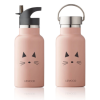 Botella Térmica de Acero Gato Rosa Liewood