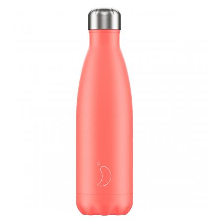 Botella térmica Chilly's 750 ml Coral Pastel