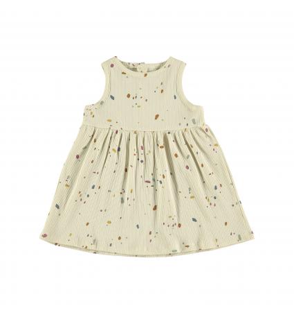 Vestido Confetti Ivory Baby Clic
