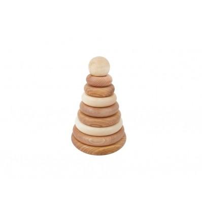Apilable Natural Wooden Story La Panxamama