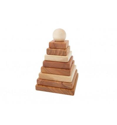 Piràmide Natural Wooden Story La Panxamama