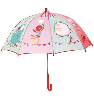 Paraigües del Circ Lilliputiens La Panxamama