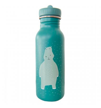 Botella Acero Trixie 500ml Hipopótamo
