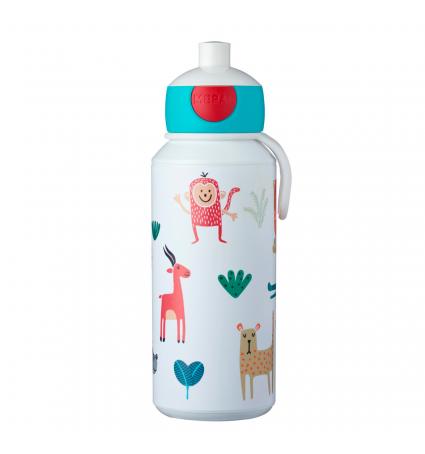 Botella Pop-Up 400ml Mepal Animal Friends