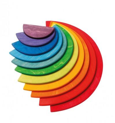 Semicercles color natural per l'Arc de Sant Martí Waldorf Gran