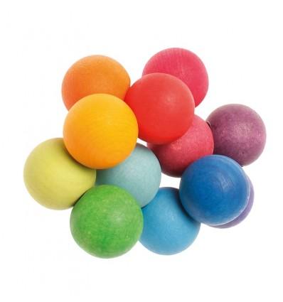 Sonall Braçalet de boles de colors Grimm's
