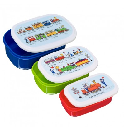 Trains Snack Boxes Tyrrell Katz
