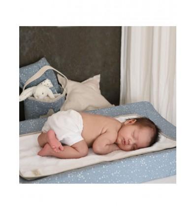 Funda Canviador BabyShower Blue Star