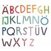 Peces de fusta per a alfabet Grimm's