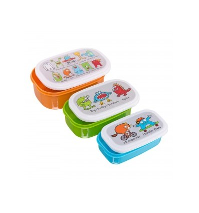Monsters Snack Boxes Tyrrell Katz