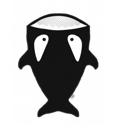 Sac orca per a nadons - Negre, Pingüins - BabyBites - La Panxamama