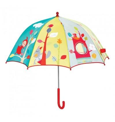 Paraguas Caperucita Lilliputiens La Panxamama